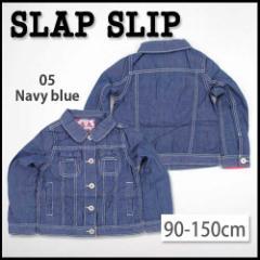 【2/8新入荷特別】59%OFF【SLAP SLIP/スラップスリップ】リボン付きデニムGジャン/90-150cm-so-st