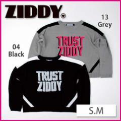 【2/14新入荷】30%OFF【ZIDDY/ジディー】ロゴ&ラインニット/S.M-zt