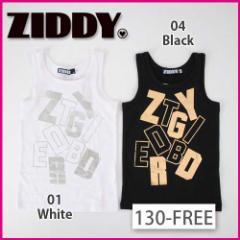 【5/16再値下げ】40%OFF【ZIDDY/ジディー】ロゴ箔プリントタンクトップ/130-FREE-zt