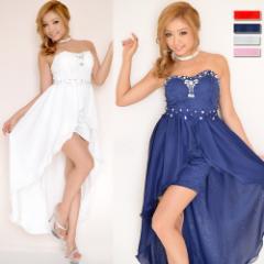ドレス キャバ パーティードレス ロングドレス キャバドレス フラワーレースビジューラウンドカットロングドレス