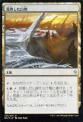 マジック:ザ・ギャザリング 荒廃した山峡【FOIL】 / 戦乱のゼンディンガー BFZ231 [JPN]