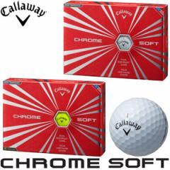 キャロウェイ Callaway ニュークロムソフト NEW CHROME SOFT imparoved ゴルフボール [12球入り]