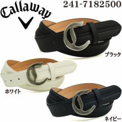 キャロウェイ Callaway ゴルフ メンズウェア シュリンクエンボス ベルト 241-7182500 2017年春夏モデル