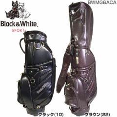 ブラック&ホワイト BLACK&WHITE クラシック キャディバッグ BWMG6ACA