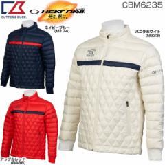 カッター&バック メンズ ゴルフウェア ヒートナビ キルティング ダウンブルゾン CBM6235 2017年秋冬モデル
