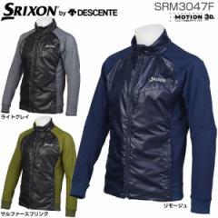 スリクソン by デサント メンズ ゴルフウェア フルジップ ハイブリッド フリースジャケット SRM3047F 2017年秋冬モデル