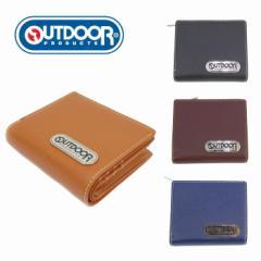 郵 メール便 送料無料 財布 メンズ 二つ折り アウトドア プロダクツ OUTDOOR PRODUCTS OD0043 さいふ ウォレット 小銭入れ 男性