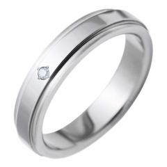 fe-fe×phiten(フェフェ×ファイテン) チタン サイドライン ダイヤモンド リング Ladies fp-20 送料無料 誕生日プレゼント ギフト