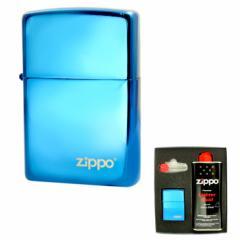 ZIPPO(ジッポー) サファイヤシリーズ No.20446ZL ZIPPO社オリジナルギフトセット gift-20446zl  / ライター レディース メンズ 送料無料