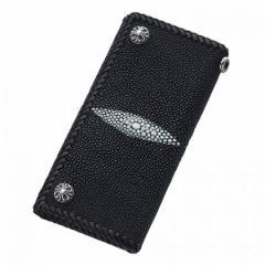 Bizarre ビザール 財布 メンズ レディース エイ革ウォレット三折り ブラック lwe001bk 送料無料 誕生日プレゼント ギフト