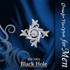 タイニーピン メンズ Black Hole クロスフォーニューヨーク ダンシングストーン for men nm-t001 誕生日 プレゼント 送料無料