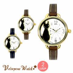 Velsepone(ベルセポーネ) レディース ウォッチ 腕時計 ノワール 日本製ムーブメント vw0012【送料無料】 母の日 ギフト