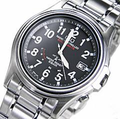 電波ソーラー腕時計 シチズン時計QQ 電波ソーラー腕時計 薄型ケース