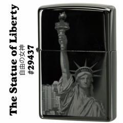 zippo(ジッポーライター)The Statue of Liberty (自由の女神) エボニー 29437
