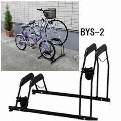 【クーポン利用で10%OFF!】 自転車スタンドBYS-2 ブラック アイリスオーヤマ