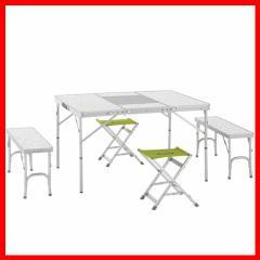 テーブル アウトドア ロゴス BBQベンチテーブルセット6 (メイプル) 送料無料