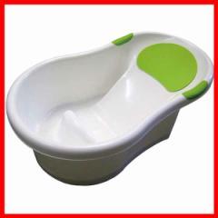 ベビーバスHG-050(白/緑)   プラザセレクト