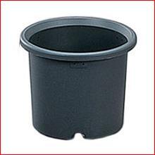 菊鉢 6号 グレー [ガーデニング用品・鉢植え・受け皿] アイリスオーヤマ