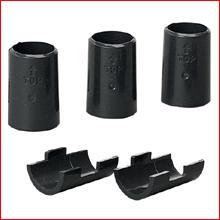 メタルミニ棚板固定部品(4個入り) MM-4MK [ポール径19mm・メタルラック・パーツ]