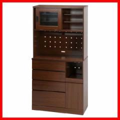 アルト キッチンボード 180*90 BR ブラウン 96880 不二貿易  プラザセレクト 送料無料