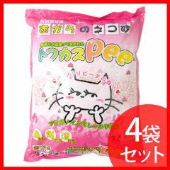 【4袋セット】猫砂 セット トフカス Pee (トフカスピー) 7L トイレ 脱臭 猫 ネコ砂 猫 砂 ペットトイレ プラザセレクト