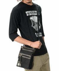2way シザーケース メンズ レディース ミニ ショルダーバッグ ポシェット ブランド 帆布 ブラック 黒色 即納