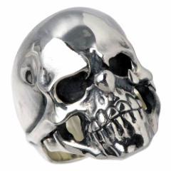 FAL エフエーエル リング 指輪 メンズ シルバー ドロップアウト スカル 13〜30号 sv 髑髏 ドクロ 骸骨 FA-R-0040 送料無料
