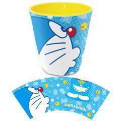 【定形外郵便送料無料】ドラえもん メラミンカップ ★RM-3186★ブルー