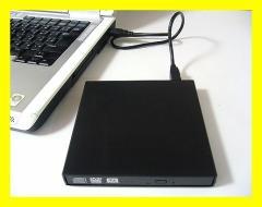 ■外付け USB接続 薄型CD/DVDドライブケース SATA ベゼル付