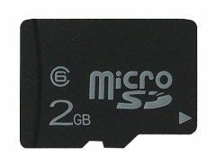 メール便送料無料■microSDカード2GB マイクロSD デジカメ/スマホ/携帯
