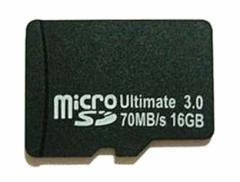 メール便送料無料■microSDHCカード16GB クラス10 70MB/s スマホ/携帯