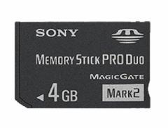 メール便可能■SONY メモリースティック PRO Duo 4GB マジックゲート対応