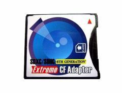 メール便送料無料■SDカード→CFカード 変換アダプター WiFi SD/高速メモリ対応