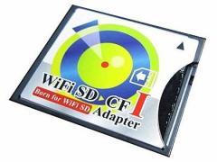 メール便可能■SDカード→CFカード TypeI 変換アダプター WiFi SD対応