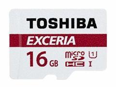 メール便可能■東芝製 microSDHC16GB クラス10 THN-M301R0160C4