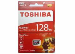 メール便可能■東芝製 microSDXC128GB クラス10 THN-M302R1280C4