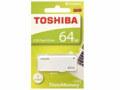 東芝 USBフラッシュメモリー 64GB スライド式 THN-U203W0640A4【メール便送料無料】