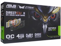 【中古】ASUS製グラボ■STRIX-GTX970-DC2OC-4GD5■PCIExp 4GB■【即納】【送料無料】≪ビデオカード グラフィックボード≫