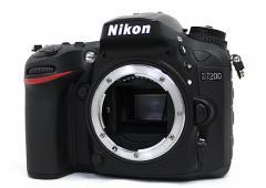 【中古】Nikon★デジタル一眼レフ D7200 ボディ★【即納】【送料無料】≪ニコン デジタルカメラ デジタル一眼カメラ≫