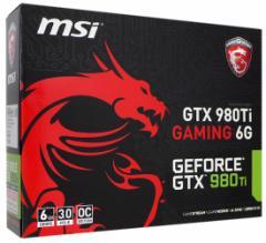 【中古】MSI製グラボ■GTX 980TI GAMING 6G■PCIExp 6GB■【即納】【送料無料】≪ビデオカード グラフィックボード≫
