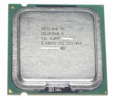 【中古】Celeron D 336★2.8GHz FSB533MHz LGA775★SL8H9★【送料180円〜】【即納】≪intel インテル セレロン celeronD CPU Socket775≫