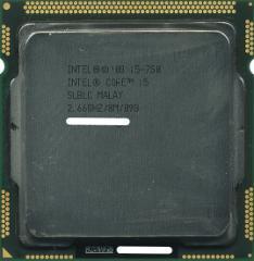 【中古】Core i5 750★2.66GHz 8M LGA1156★SLBLC★【送料180円〜】【即納】≪intel インテル CPU バルク≫