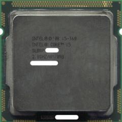 【中古】Core i5 760★2.8GHz 8M LGA1156 95W★SLBRP★【送料180円〜】【即納】≪intel インテル CPU バルク≫