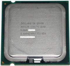 【中古】Core 2 Quad Q9400★2.66GHz FSB1333MHz LGA775 45nm★SLB6B★【送料180円〜】【即納】≪intel インテル Core2Quad core2 cpu≫