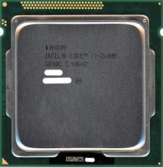 【中古】Core i7 2600K★3.4GHz LGA1155★SR00C★【即納】【送料無料】≪intel インテル CPU バルク≫