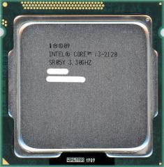 【中古】Core i3 2120★3.3GHz★4M LGA1155 65W★SR05Y★【送料180円〜】【即納】≪intel インテル CPU バルク≫