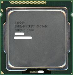 【中古】Core i5 2500K★3.3GHz 6M LGA1155 95W★SR008★【即納】【送料無料】≪intel インテル CPU バルク≫