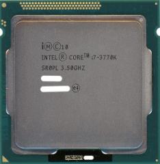 【中古】Core i7 3770K★3.5GHz LGA1155★SR0PL★【即納】【送料無料】≪intel インテル CPU バルク≫