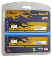 【中古】CFD ELIXIR■W3U1600HQ-4G■DDR3 PC3-12800 4GBx2枚組■【即納】≪メモリー≫