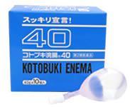 【第2類医薬品】 ムネ製薬 コトブキ浣腸40 40g×10個入り